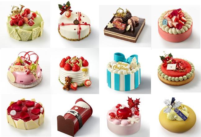 小田急百貨店「クリスマスケーキ」