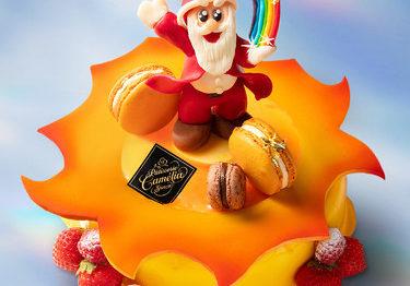 伊勢丹新宿店のクリスマスケーキ